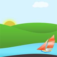 Анимированный ландшафт с помощью CSS и JQuery