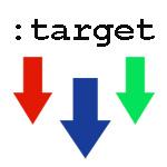 Псевдо-селектор :target